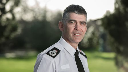 Chief Constable Andy Marsh. Picture: Paul Groom