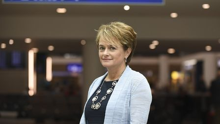 Debbie Hartshorn has been promoted to the position of people director.Picture: Bristol Airport