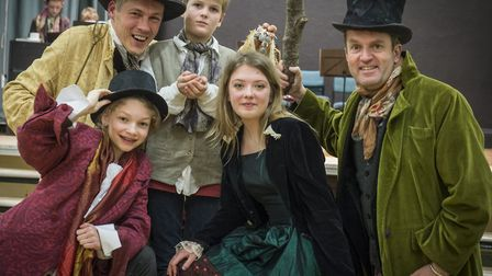 Oliver! will be performed by the villages drama and youth drama clubs next week.Picture: Neil Philli
