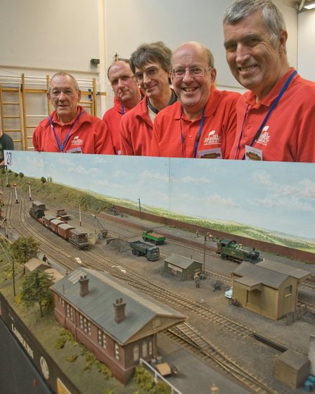 Culm Valley Model Railway Club at Weston-super-Mare model railway show at the Locking Castle Campus.