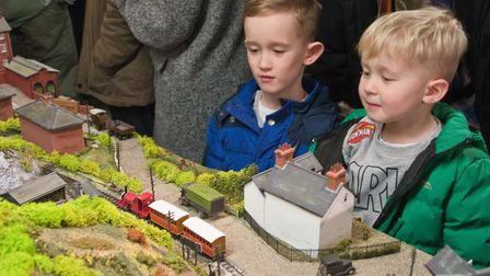 Weston-super-Mare model railway show at the Locking Castle Campus. Picture: MARK ATHERTON