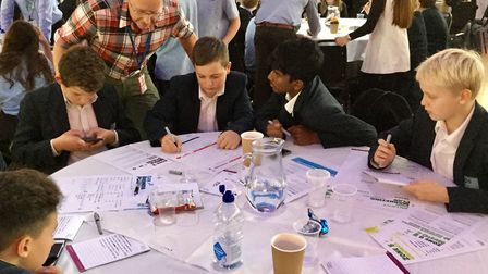 Pupils learning. Picture: Lloyds Banking Group