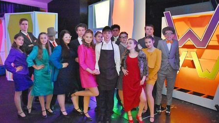 Clevedon School pupils perform How To Succeed In Business Without Really Trying.