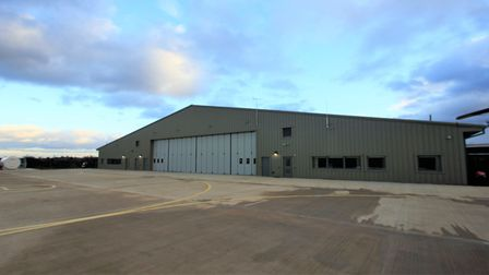 The Great Western Air Ambulance Charitys new air base.Picture: Great Western Air Ambulance Charity