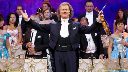 Andre Rieu in concert.Picture: Manuela Scarpa/Photo Rio News