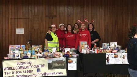 Slimming World Consultants Debbie Orbell, Sylv Rubery, Anna Robinson, Julie Bryant, Jo Walker and Am