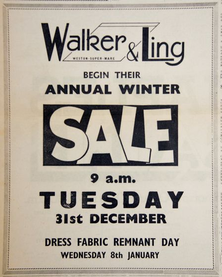 Ads 27th December 1968 Edition. Picture: WESTON MERCURY