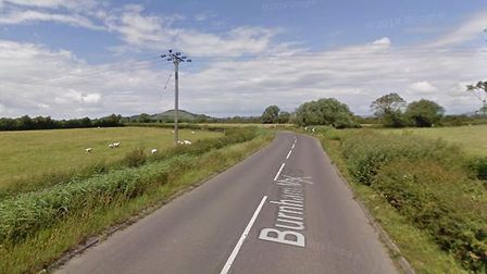 Burnham Moor Road where the incident took place. Picture: Google Maps