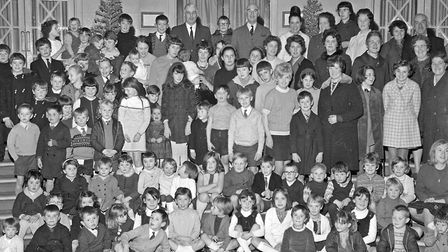 Children at the party given at the Winter Gardens Pavilion by Weston Police. Picture: MARK ATHERT