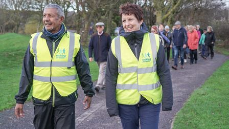 North Somerset Council is looking for volunteers to lead its health walks.Picture: North Somerset Co