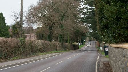 Wolvershill Road, Banwell. Picture: MARK ATHERTON