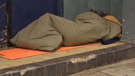 The number of people sleeping rough in North Somerset is on the rise. Picture: Getty Images