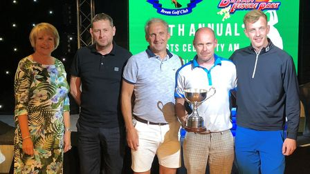 Brean Charity Golf Day raised more than £5,000 for good causes. Picture: Holiday Resort Unity