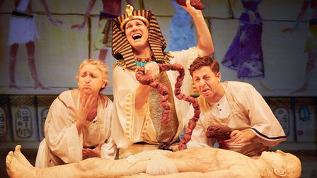 Birmingham Stage Company present Awful Egyptians. Photo by Mark Douet
