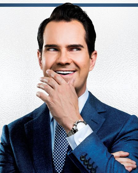Jimmy Carr will also perform at The Playhouse.