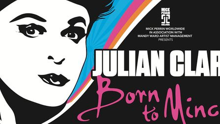 Julian Clary will bring his show to The Playhouse.