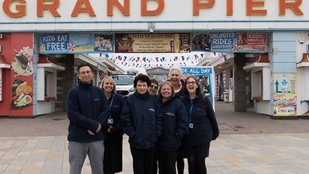 Weston Hospicecare staff and volunteers have been given annual memberships to the Grand Pier.