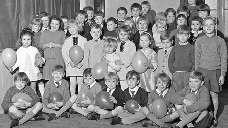 The annual children's party for juvenille member of the Oddfellows from the Loyal Mendip Lodge (Lang