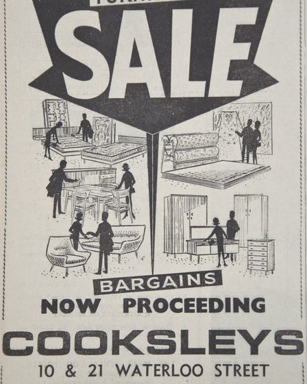 Ads 10th January 1969 Edition. Picture: WESTON MERCURY