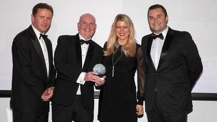 Sandy Glade was named the Bristol, Bath and Somerset holiday park of the year. Picture: Nick William