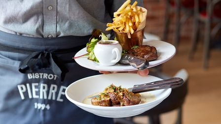 Enjoy two courses for £10 at Bistrot Pierre.