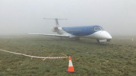 The plane crashed in foggy conditions. Picture: AAIB