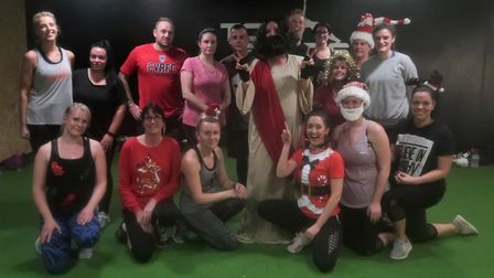 Toogoods Fitness has donated hundreds of pounds to Weston Hospicecare.