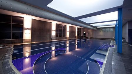 Winners will be able to make use of the pool at theclub.