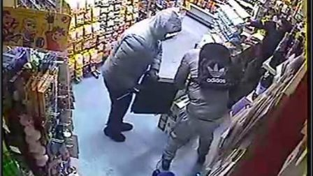 CCTV footage from the raid has been released by police. Picture: Avon and Somerset Constabulary