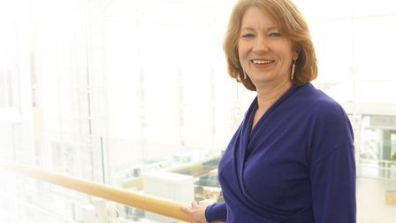 Director of financial reporting at NBS, Anne Obey, has received an OBE.Picture: Nationwide Building