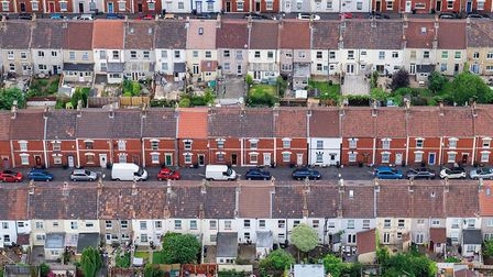 Terraced houses. Picture: Alex Wolfe-Warman