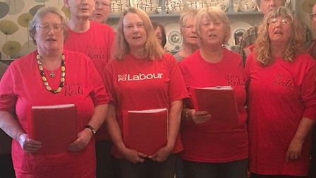 The Rhythmic Reds choir is recruiting new members. Picture: Rhythmic Reds