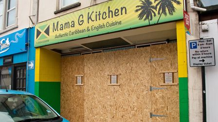 Mama G's takeawy in Orchard Street has been shut down for three months. Picture: MARK ATHERTON