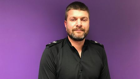 Town Centre Police Sergeant Lee Kerslake.