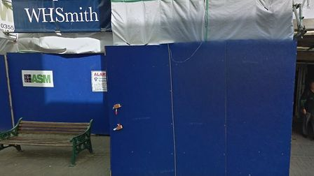 WHSmith on Weston-super-Mare High Street is undergoing rennovation picture: Google Maps