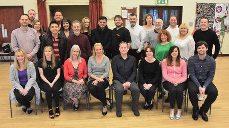 The contestants of Strictly Fun Dancing for Weston Hospicecare.