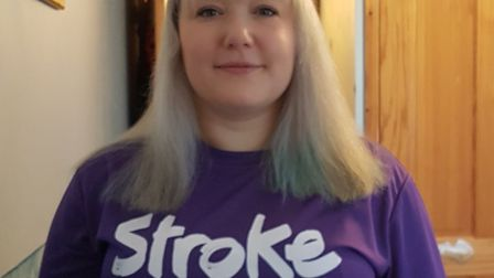 Gemma Green is raising awareness for the Stroke Association charity.Picture: Stroke Association