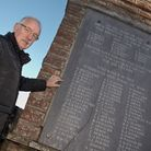 Mike Phipps who is raising money to preserve Portbury's war memorial. Picture: MARK ATHERTON