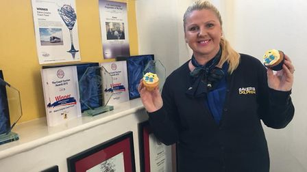 Kate Bastin from Bakers Dolphin who has been nominated a national award.