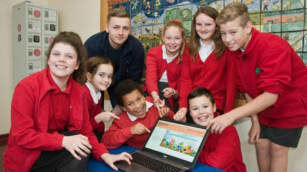Mendip Green Primary school has entered a web competition to win £10k, but need your vote. Pict