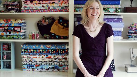 Louise Horler who runs Sew Scrumptious.