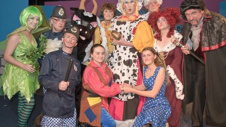Shipham Players' pantomime, Jack And The Beanstalk. Picture: MARK ATHERTON