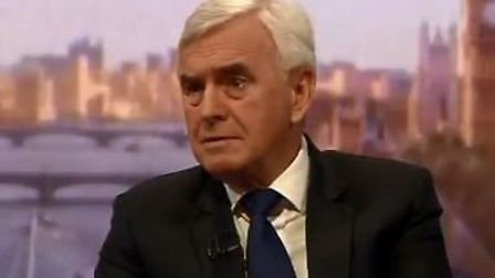 Shadow chancellor John McDonnell said that Labour has addressed all issues fuelling a possible split