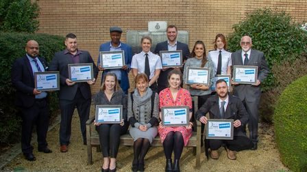 The winners of the PCC Pride Award 2019. Picture: Jeff Searle