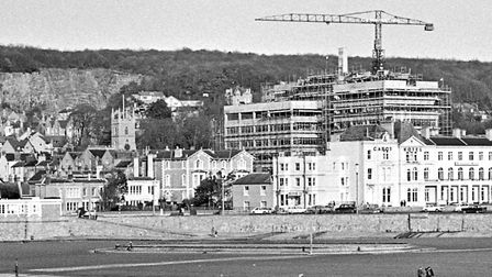 Weston-super-Mare's new Technical College, now reaching its completed outline, is generaly acknowled