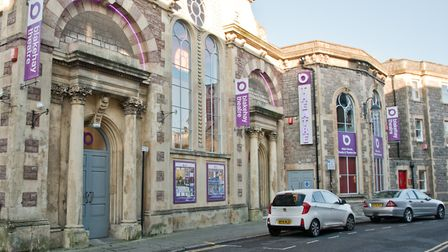 Blakehay Theatre, Weston-s-Mare. Theatre has bid for cash, for its SEN project. Picture: MARK ATH