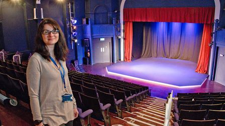 Sally Heath, Blakehay Theatre manager. Theatre has bid for cash, for its SEN project. Picture: MA