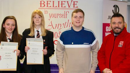 Students at King Alfreds have won two Duke of Edinburgh's Awards.Picture: The King Alfred School, an
