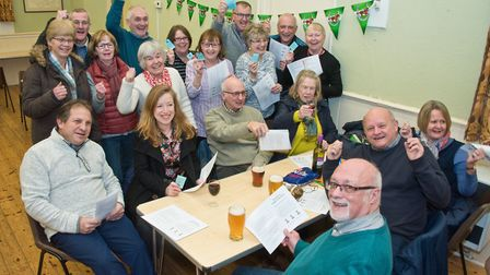 A charity race night raising money for the Old School Rooms, Congresbury. Picture: MARK ATHERTON