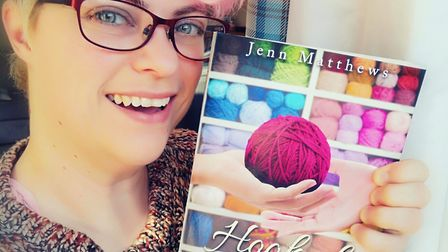 Jenn Matthews has published her first novel. Picture: Jenn Matthews